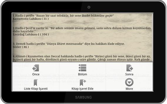 Risale-i Nurdan Vecize Kitabı screenshot 8
