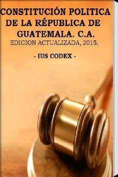 Constitución de Guatemala poster