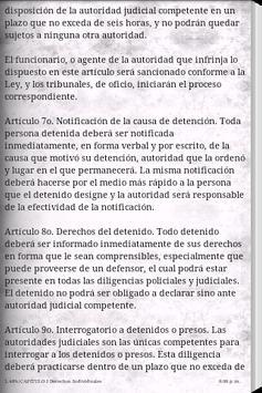 Constitución de Guatemala apk screenshot
