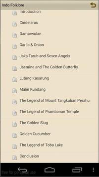Indonesian Folklore apk screenshot