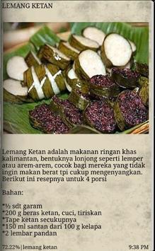 Resep Masakan Kalimantan apk screenshot