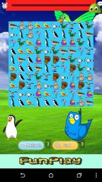 Bird Match Games For Kids screenshot 1