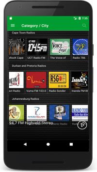 Radio South Africa FM - Live Radio Stations Online apk screenshot