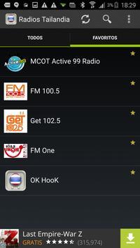 Radios Tailandia screenshot 2