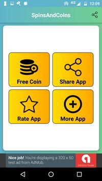 Free Spins And Coins Daily Links For Coin Master screenshot 1