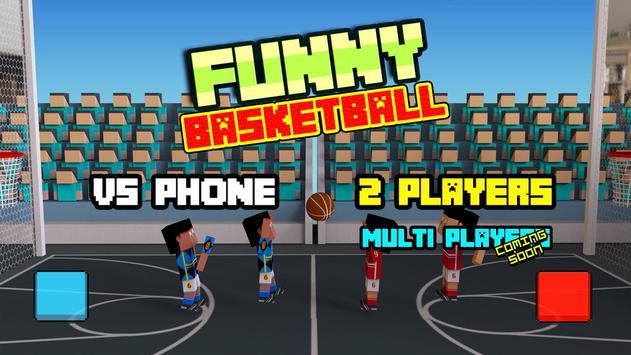 Funny mobile BasketBall pixel 3D apk screenshot