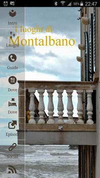 The places of Montalbano poster