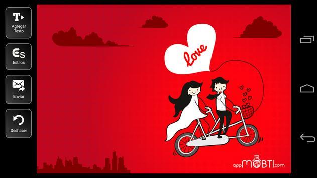 Valentine Postcards apk screenshot