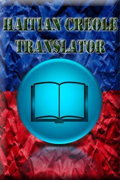 Haitian English Translator poster