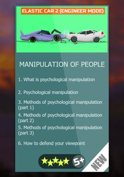 Manipulation of people  Psychology of people poster