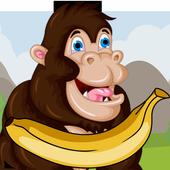 Banana King Kong icon