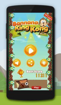 Banana King Kong apk screenshot