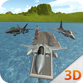 Fighter Jet Carrier Simulator icon