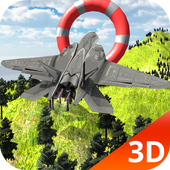 Jet Aircraft Stunt Simulator icon