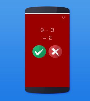 True or False Game: Maths screenshot 1
