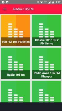 Fm 105 Pakistan Free Internet Radio App Recorder poster