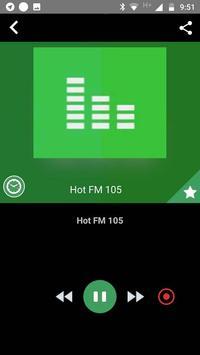 Fm 105 Pakistan Free Internet Radio App Recorder screenshot 1