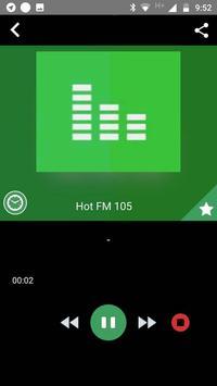 Fm 105 Pakistan Free Internet Radio App Recorder screenshot 2