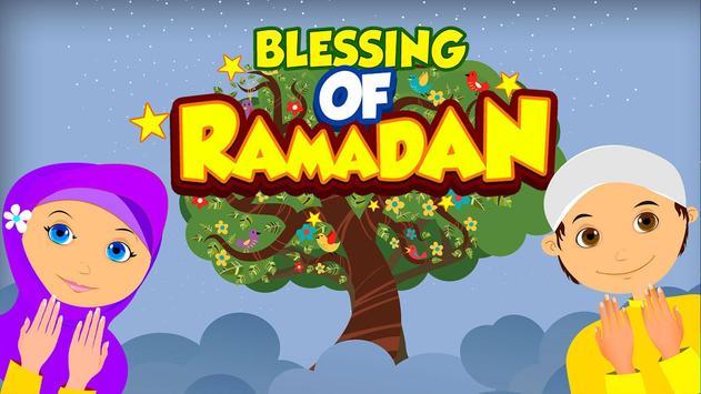 Ramadan Blessings for Kids poster