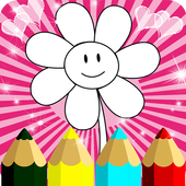 Kids Coloring Book Pages icon
