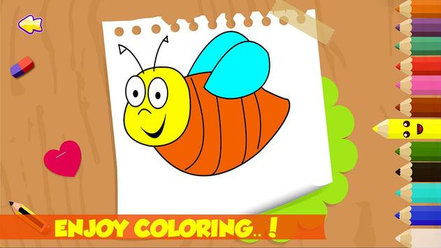 Kids Coloring Book Pages screenshot 4