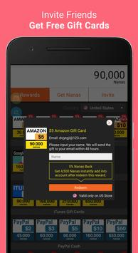 AppNana - Free Gift Cards apk screenshot