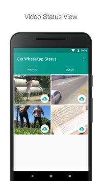 Get WhatsApp Status - whatsapp status downloader screenshot 1