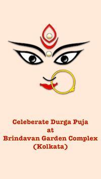 Durga Puja - Brindavan Garden poster