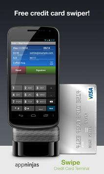 the description of swipe free credit card swiper - Credit Card Swiper For Android