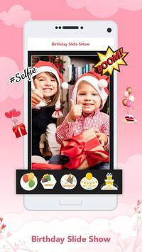 Birthday Slideshow Maker apk screenshot