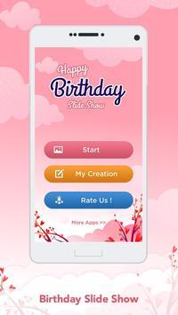 Birthday Slideshow Maker poster