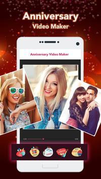 Anniversary Video Maker screenshot 2