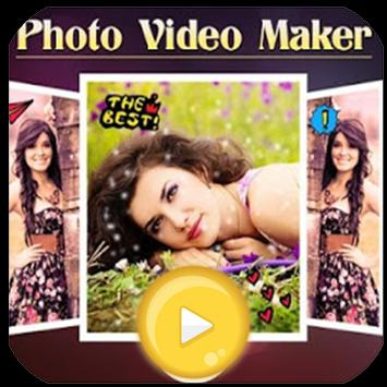 photo video maker poster