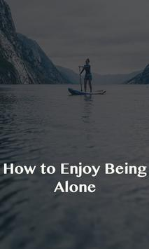 Enjoy Being Alone poster