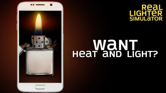 Real lighter simulator apk screenshot