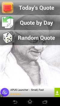 Mahatama Gandhi Quotes apk screenshot