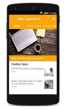 Babe Online Baca Berita Online screenshot 3