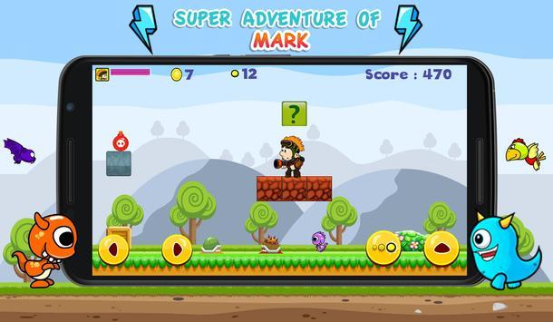 Super Adventures of Mark screenshot 1