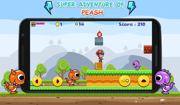 Super Adventures of Peash apk screenshot