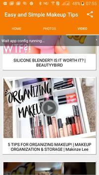 Easy and simple Makeup Tips screenshot 5