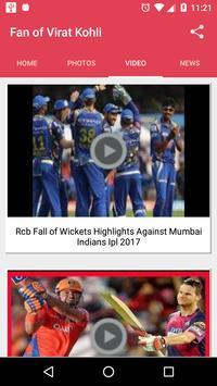 Fans of Virat apk screenshot