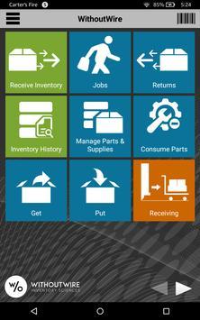 WithoutWire Warehouse apk screenshot