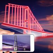 Bridge hologram simulator icon