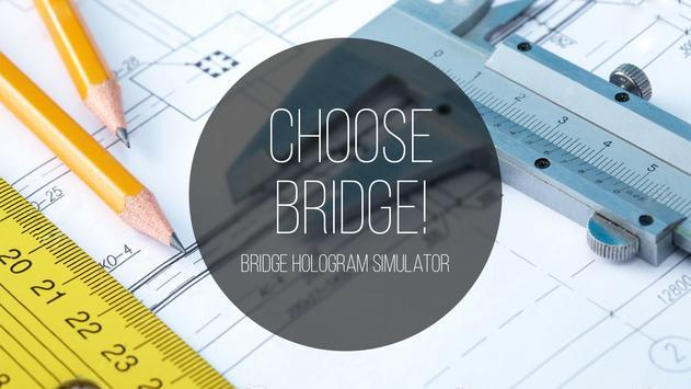Bridge hologram simulator poster