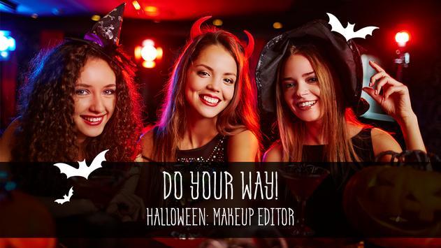 Halloween: makeup editor screenshot 5
