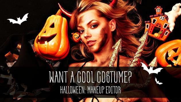 Halloween: makeup editor screenshot 2