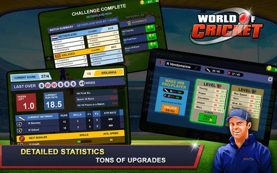 World of Cricket apk screenshot