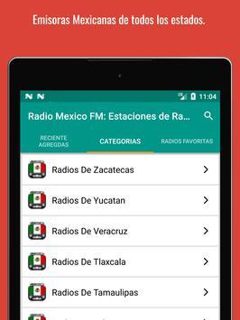 Mexican Radio Stations FM AM - Radio Mexico Online screenshot 9
