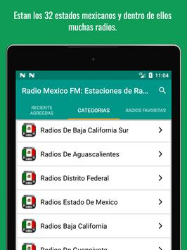 Mexican Radio Stations FM AM - Radio Mexico Online screenshot 11