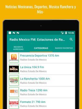 Mexican Radio Stations FM AM - Radio Mexico Online screenshot 14